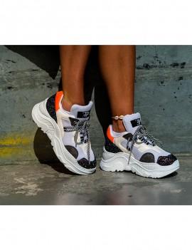 Malibu sneaker - Orange