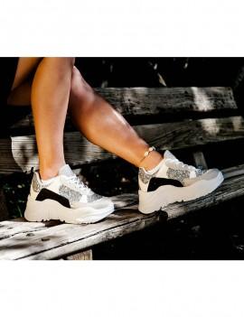 Malibu sneaker - Nude