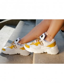 Malibu Sneaker - Mustard