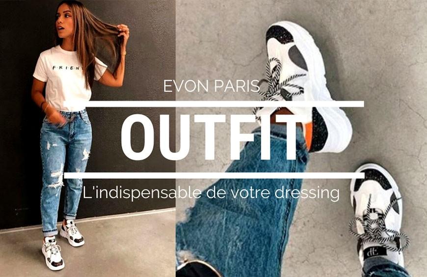 Des sneakers pour un look confortable et tendance